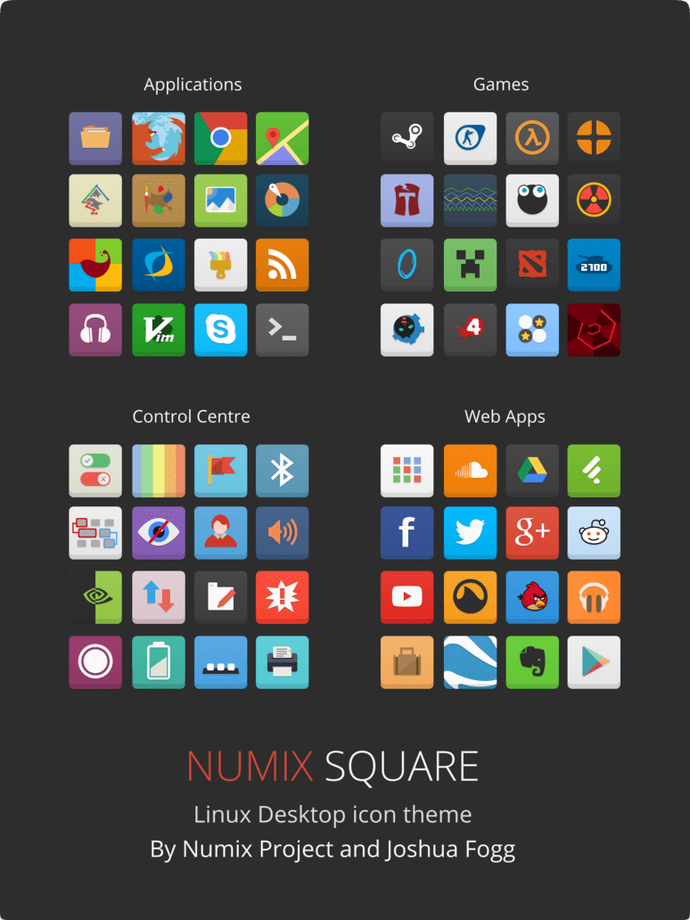 numix square icons by satya164 d7drqru